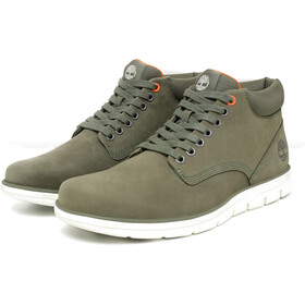 Timberland Bradstreet Chaussures en cuir Chukka Homme, dark green nubuck